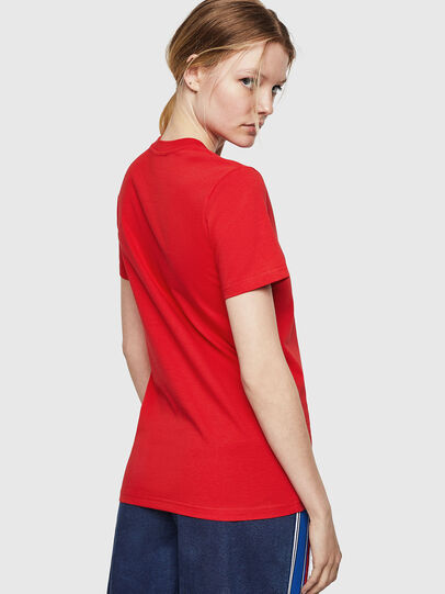 Diesel - T-SILY-ZE, Fire Red - T-Shirts - Image 2