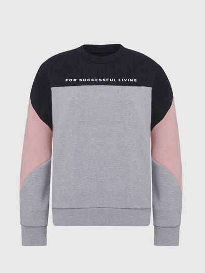 Diesel - UFLT-PHYLOSH, Gray/Black - Sweaters - Image 1