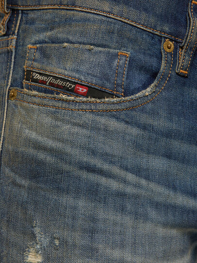 Diesel - Tepphar 009GP, Dark Blue - Jeans - Image 4