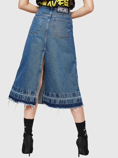 Diesel - DE-INGRID, Medium blue - Skirts - Image 2