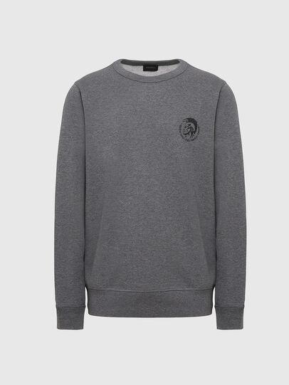 Diesel - UMLT-WILLY, Grey Melange - Sweaters - Image 1
