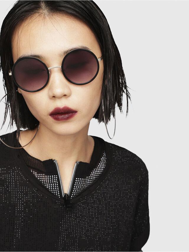 Diesel - DL0276, Black/Gold - Sunglasses - Image 5