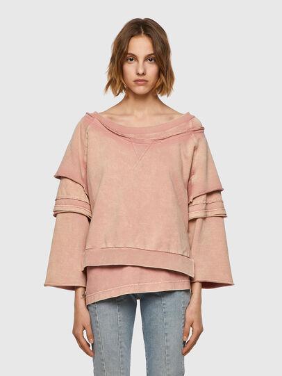 Diesel - F-STRATTY-B1, Pink - Sweaters - Image 1