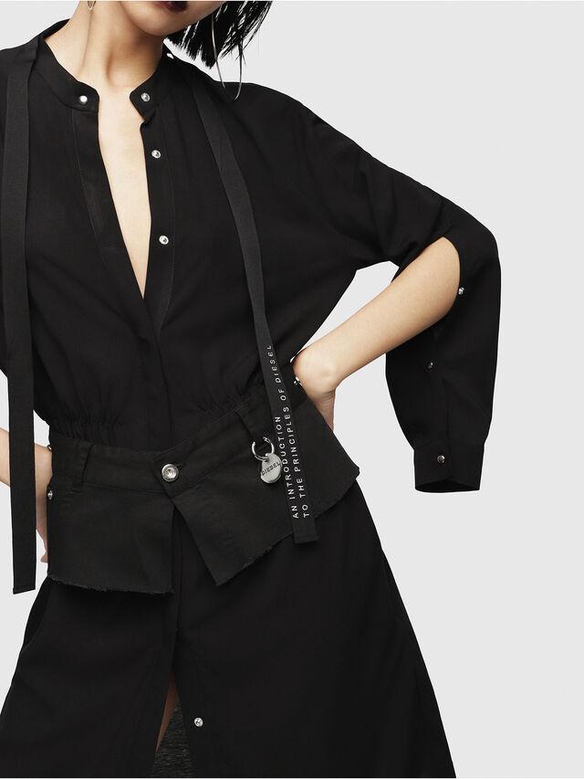 Diesel - D-YAE, Black - Dresses - Image 3