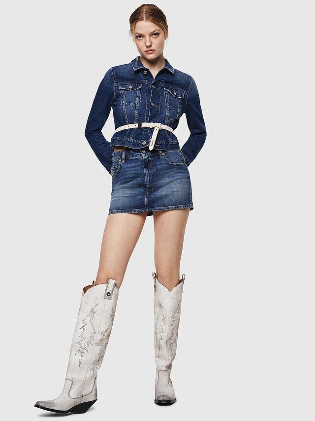 Diesel - DE-LIMMY, Blue Jeans - Denim Jackets - Image 5