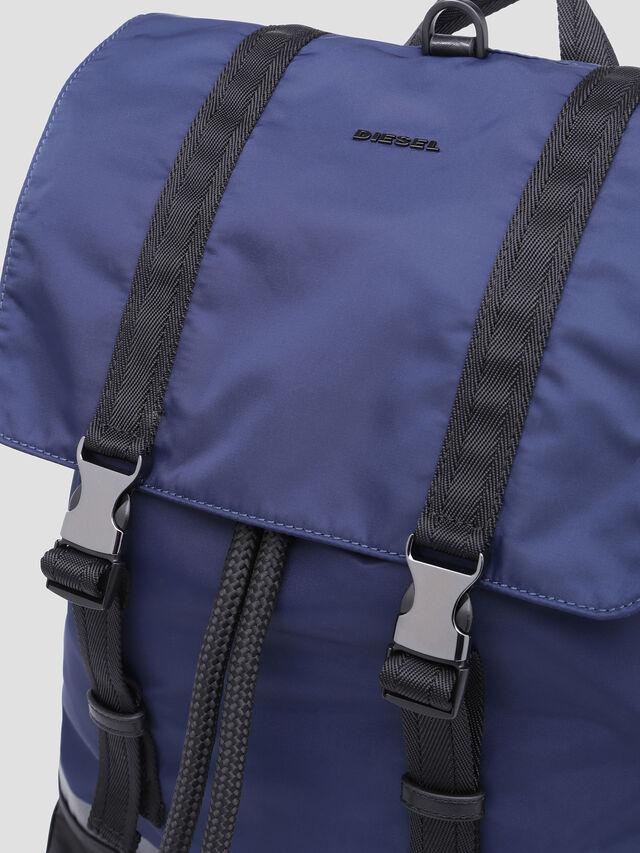 Diesel - VOLPAGO BACK, Blue - Backpacks - Image 4