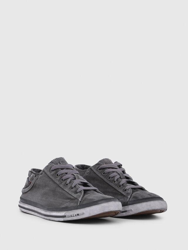 Diesel EXPOSURE LOW I, Metal Grey - Sneakers - Image 2