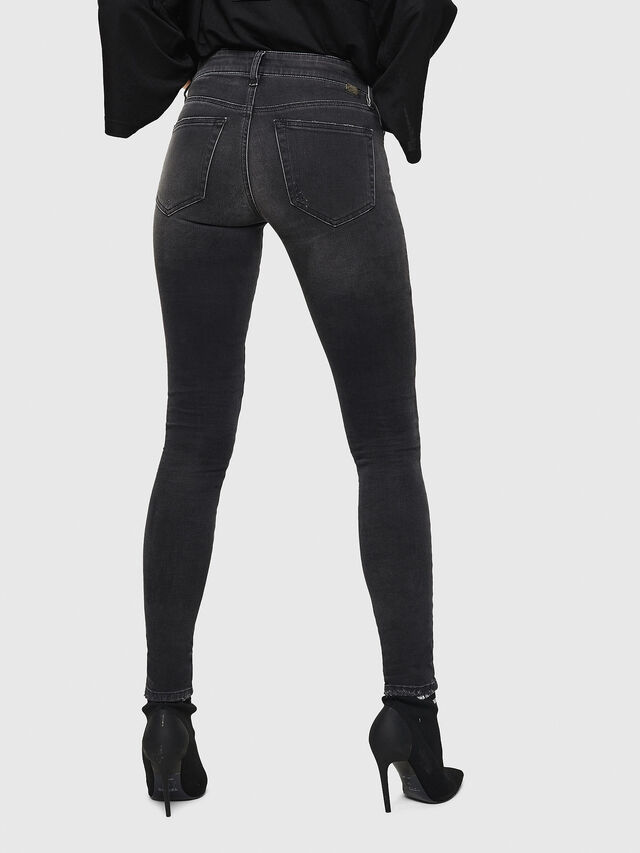 Diesel - Slandy 069GI, Black/Dark grey - Jeans - Image 2