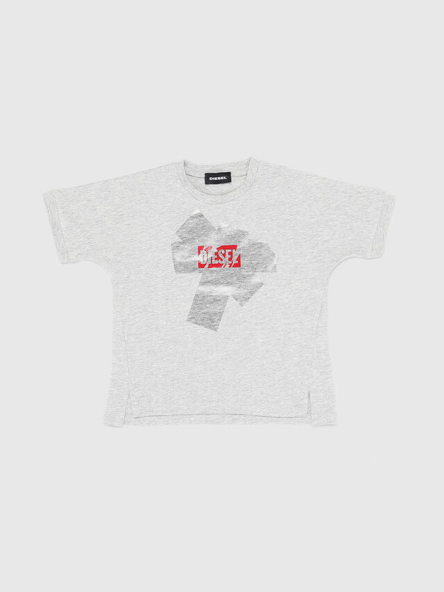 Diesel - TUPIB-R, Grey - T-shirts and Tops - Image 1