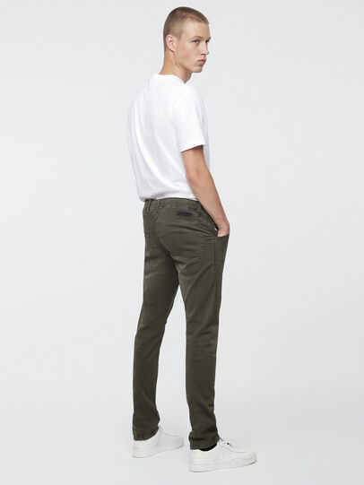 Diesel - Krooley JoggJeans 0670M, Military Green - Jeans - Image 3