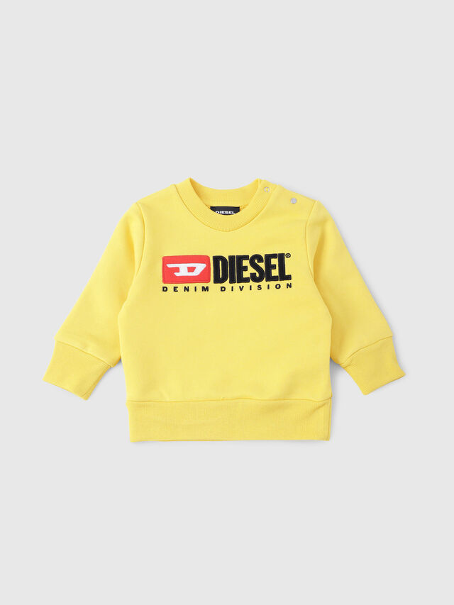 Diesel - SCREWDIVISIONB, Yellow - Sweaters - Image 1
