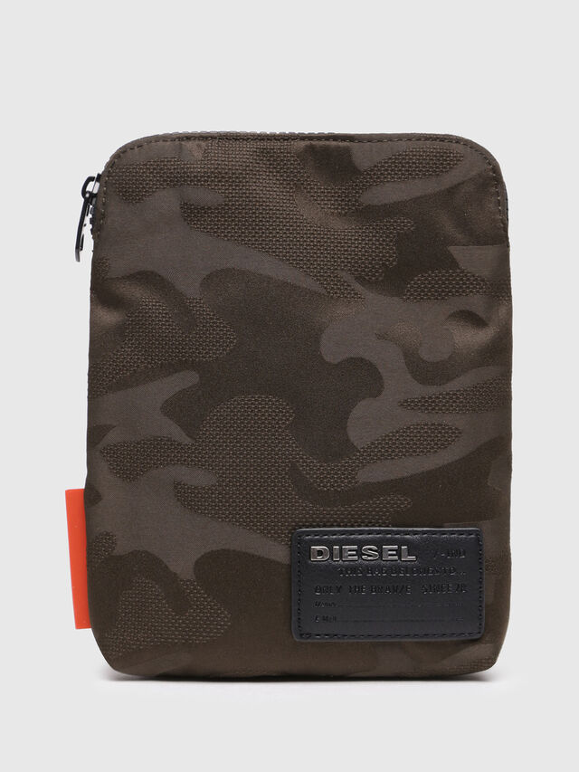 Diesel F-DISCOVER SMALLCROS, Marron Military - Crossbody Bags - Image 1