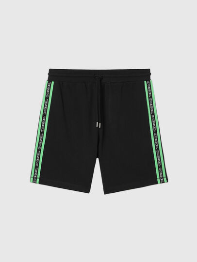 Diesel - UMLB-EDDY, Black/Green - Pants - Image 1