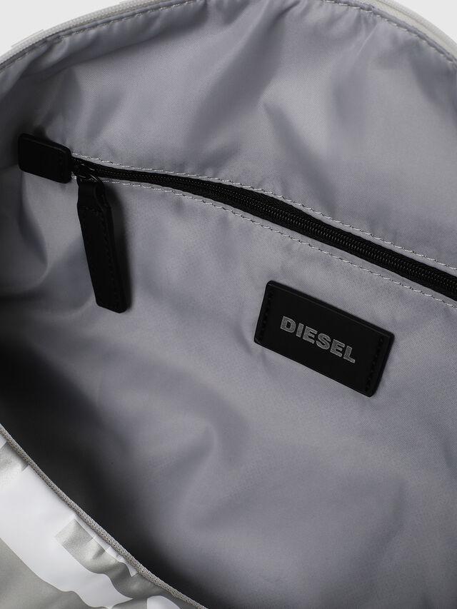Diesel - BOLD DUFFLE, Black/Silver - Bags - Image 5