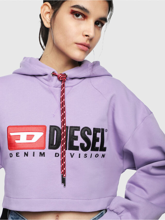 Diesel - F-DINIE-A, Lilac - Sweaters - Image 3
