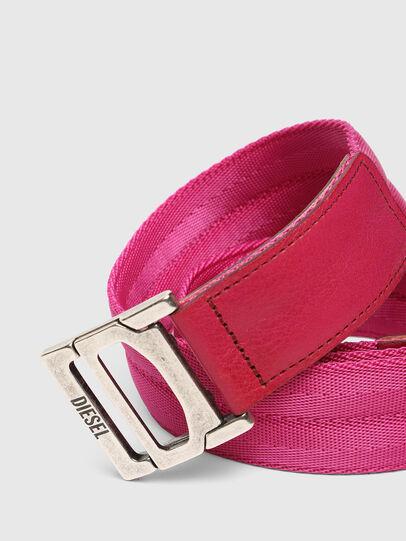 Diesel - B-WEBI, Pink - Belts - Image 2