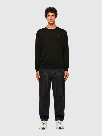 Diesel - K-CROFT, Black - Knitwear - Image 4