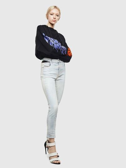 Diesel - Babhila High 009AX, Light Blue - Jeans - Image 7
