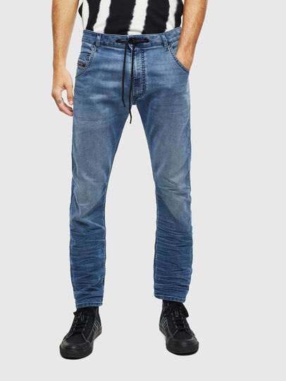 Diesel - Krooley JoggJeans 069MA, Medium blue - Jeans - Image 3