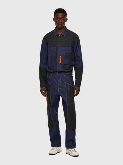 Diesel - D-Franky JoggJeans® 0EEAW, Dark Blue - Jeans - Image 5
