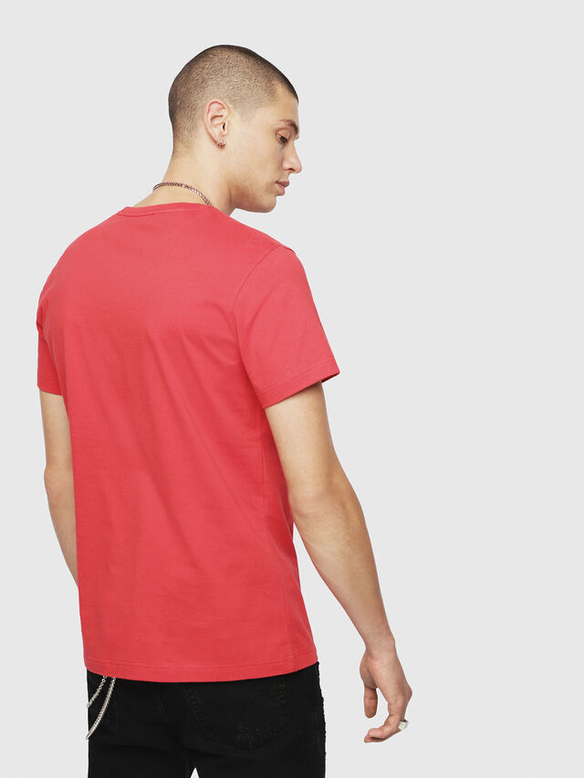 Diesel - T-DIEGO-YH, Red - T-Shirts - Image 2