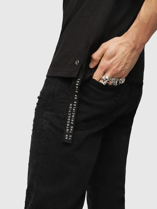 Diesel - T-DIEGO-XMAS, Black - T-Shirts - Image 3