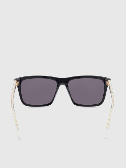 Diesel - DL0349, Black - Sunglasses - Image 4