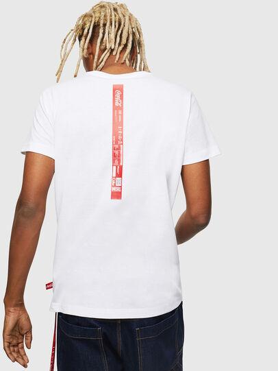 Diesel - CC-T-DIEGO-COLA, White - T-Shirts - Image 3