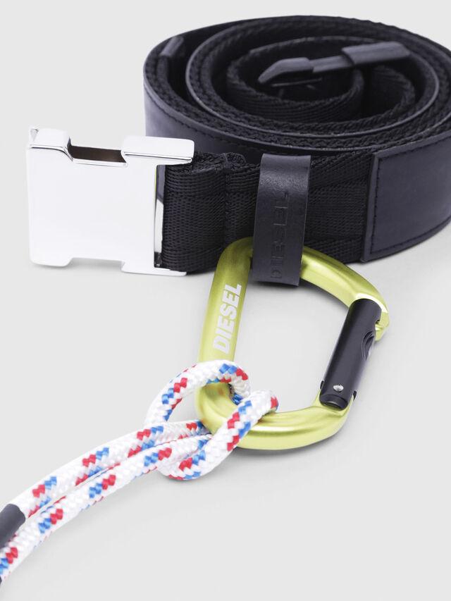 Diesel - B-ALTIVOLE, Black - Belts - Image 2