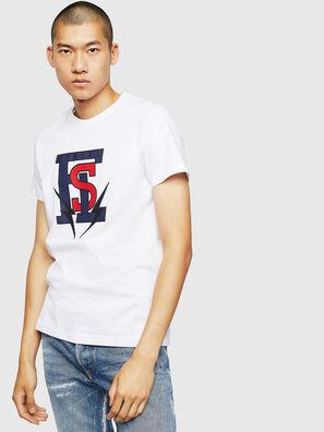T-DIEGO-B3, White - T-Shirts