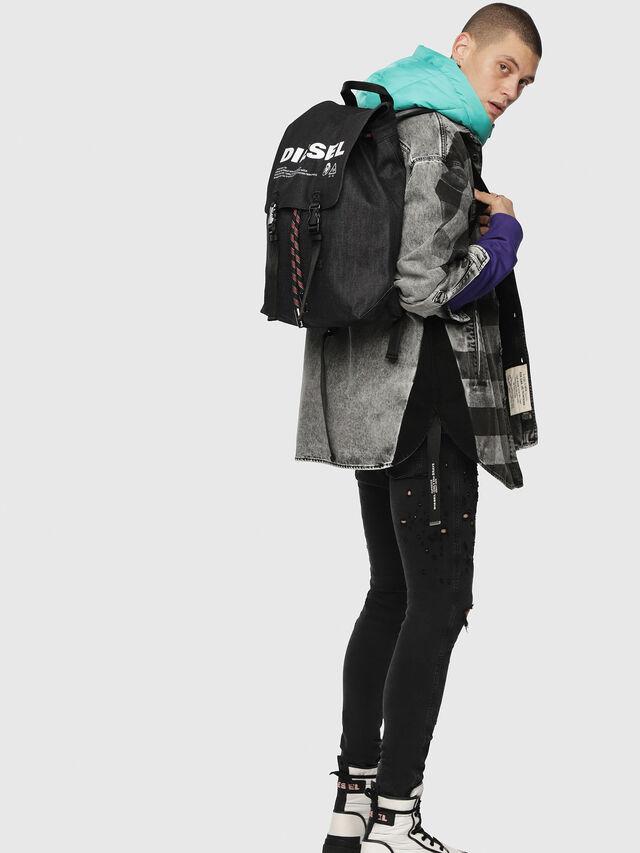 Diesel - VOLPAGO BACK, Black - Backpacks - Image 5