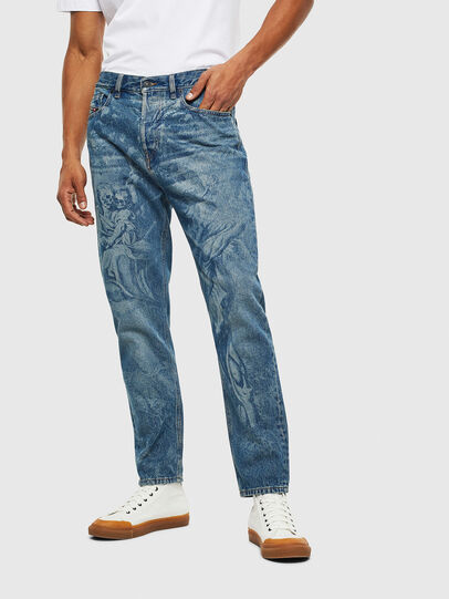 Diesel - D-Vider 0079D, Medium blue - Jeans - Image 1