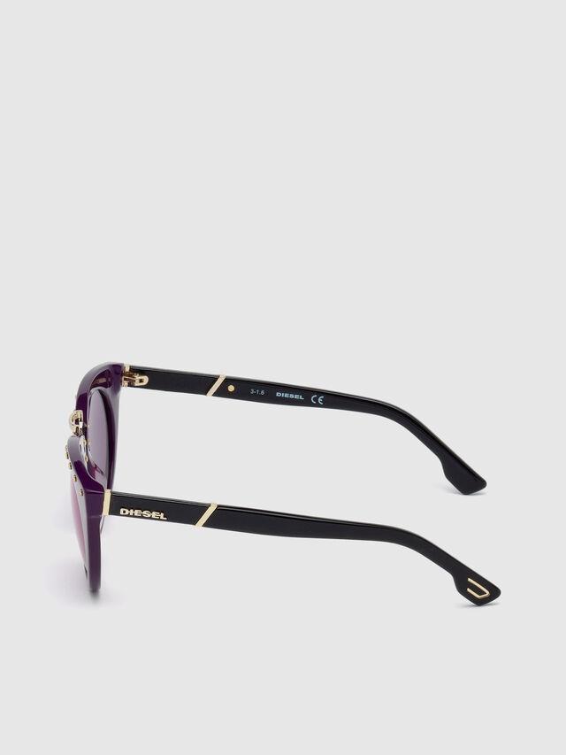 Diesel - DL0211, Violet - Sunglasses - Image 4