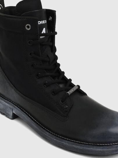 Diesel - D-THROUPER DBBZ, Black - Boots - Image 4