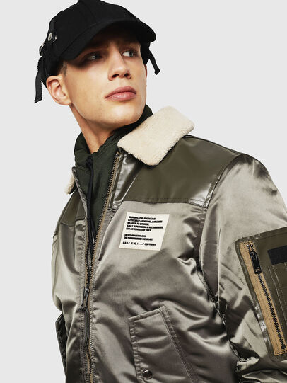 Diesel - W-FEDOVIK, Military Green - Winter Jackets - Image 5