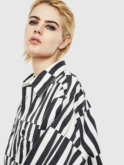 Diesel - S-JESSY-B, White/Black - Shirts - Image 6