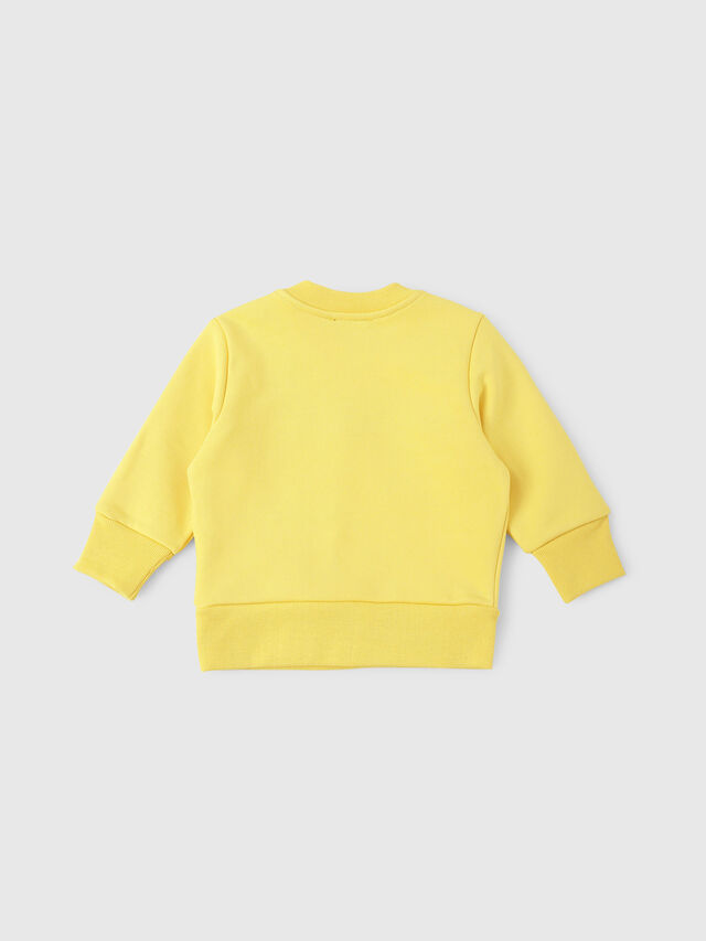 Diesel - SCREWDIVISIONB, Yellow - Sweaters - Image 2