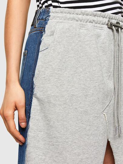 Diesel - O-LE, Grey/Blue - Skirts - Image 3