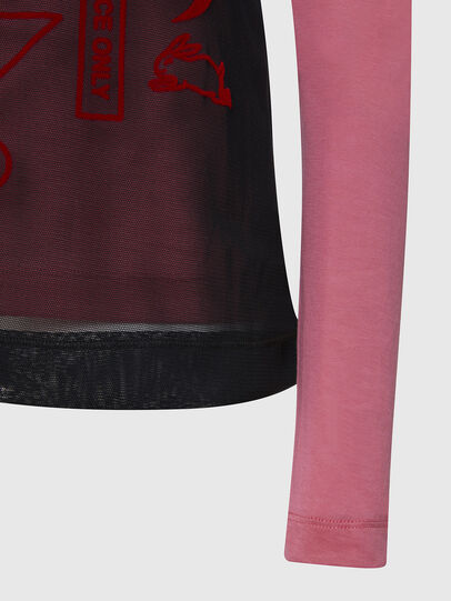 Diesel - T-LAYER, Pink - Tops - Image 4