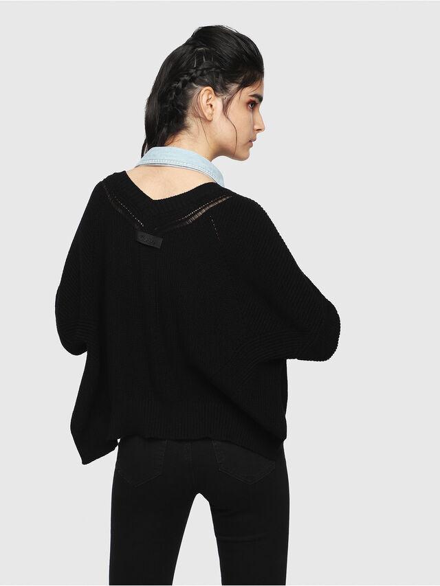 Diesel - M-STAT, Black - Knitwear - Image 2