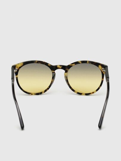 Diesel - DL0310, Black/Yellow - Sunglasses - Image 4