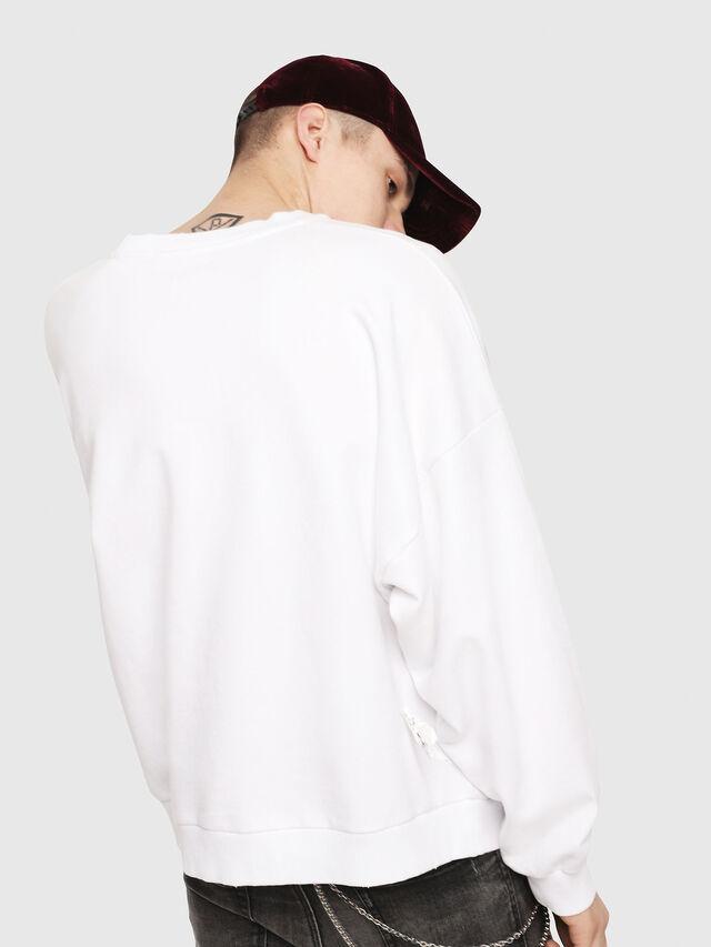 Diesel - S-YOSHIOR-Y1, White/Black - Sweaters - Image 2