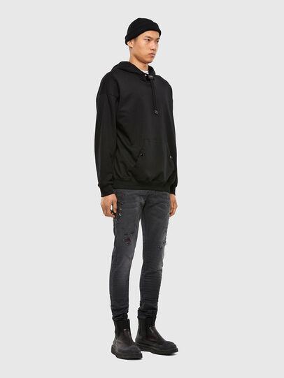 Diesel - Krooley JoggJeans 069RA, Black/Dark grey - Jeans - Image 6