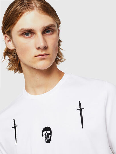 Diesel - TY-X2, White - T-Shirts - Image 3