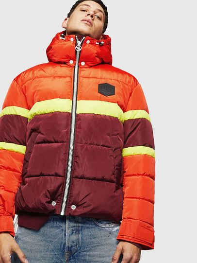 Diesel - W-MARTOS, Orange - Winter Jackets - Image 1