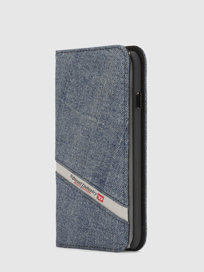 Diesel - DENIM IPHONE X FOLIO,  - Flip covers - Image 4