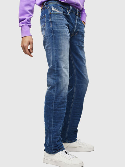 Diesel - Larkee 0097X, Medium blue - Jeans - Image 4