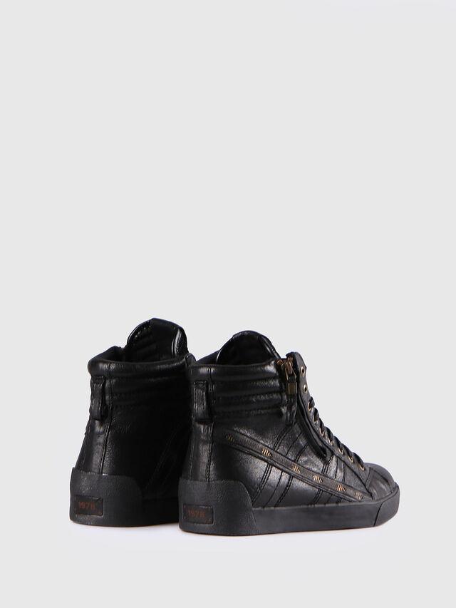 Diesel D-STRING PLUS, Black - Sneakers - Image 3