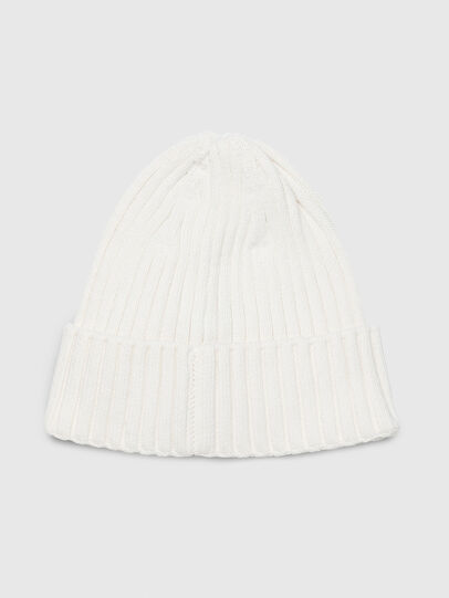 Diesel - K-CODER-D, White - Knit caps - Image 2