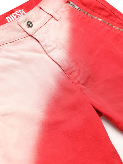 Diesel - GR02-P303, Red/White - Shorts - Image 3